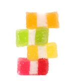 Spyral colorful jelly candies. Stock Photography