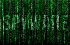 Spyware royalty ilustracja