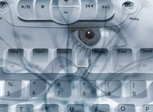 Spyware abstract Stock Photo