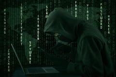 Spyware global Fotografia de Stock Royalty Free