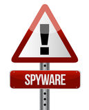 'spyware' sign Royalty Free Stock Image