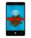 Spyware Smartphone Stock Image