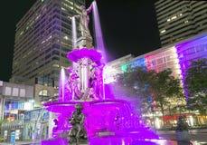 Sq fontein Stock Fotografie