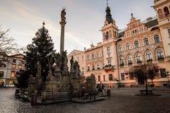 Sqare de Pardubice Foto de Stock Royalty Free