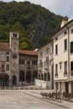 Sqare in small old italian town. Main sqare in small old italian town Royalty Free Stock Image