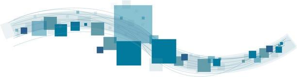 Sqares e linhas Imagem de Stock