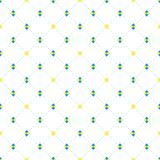 Sqaures and diamonds seamless pattern Stock Image