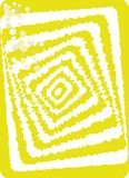 Sqiare optisk illusion. Royaltyfri Foto