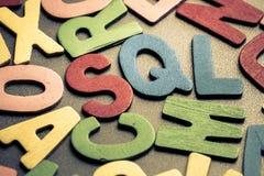 SQL Arkivfoto