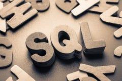 SQL стоковые фотографии rf