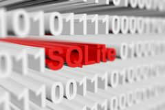 Sqlite Royalty Free Stock Images