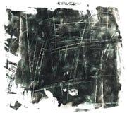 Sqratched czerni grunge tło Fotografia Royalty Free
