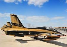 Squadra aerobatic di Fursan di Al Fotografia Stock