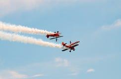 Squadra ambulante dell'ala di Breitling Fotografie Stock Libere da Diritti