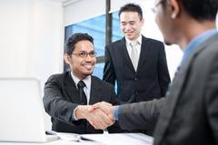 Squadra asiatica di affari