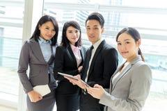 Squadra asiatica di affari Fotografie Stock Libere da Diritti