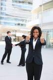Squadra attraente varia di affari Immagini Stock