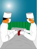 Squadra chirurgica Immagini Stock
