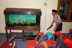 Squadra del bom della polizia Immagine Stock