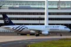 Squadra del cielo - aeroplano di Air France Fotografia Stock Libera da Diritti