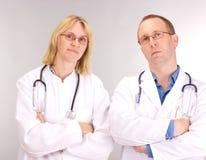Squadra del medico Immagine Stock