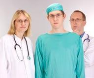 Squadra del medico Fotografie Stock