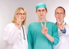 Squadra del medico Fotografia Stock Libera da Diritti