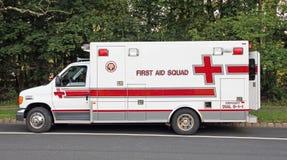 Squadra del pronto soccorso Fotografie Stock Libere da Diritti