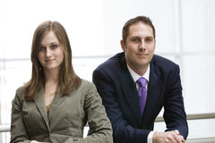 squadra del ritratto di affari Fotografia Stock