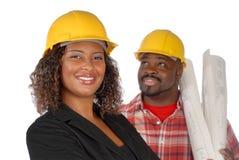Squadra della costruzione fotografie stock libere da diritti
