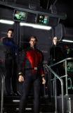 squadra della nave spaziale Fotografia Stock