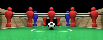 Squadra della tabella una di Foosball illustrazione vettoriale