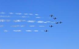 Squadra della visualizzazione del jet Fotografie Stock Libere da Diritti