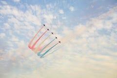Squadra della visualizzazione di aria Fotografia Stock Libera da Diritti