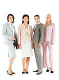 Squadra delle donne di affari Immagine Stock