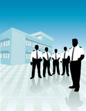 Squadra delle protezioni di obbligazione Immagini Stock