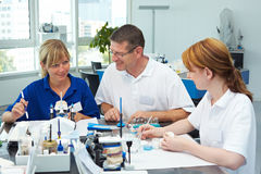 Squadra dentale Fotografia Stock Libera da Diritti