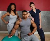 Squadra di addestramento di forma fisica Immagine Stock Libera da Diritti