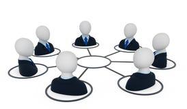 Squadra di affari. Fotografia Stock