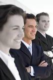 Squadra di affari Fotografia Stock