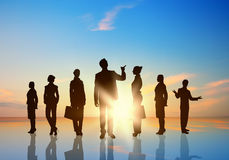 Squadra di affari Immagini Stock Libere da Diritti