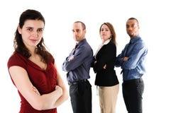 Squadra di affari Fotografie Stock