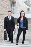 Squadra di affari all'ufficio Immagine Stock Libera da Diritti