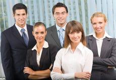 Squadra di affari all'ufficio Immagini Stock Libere da Diritti