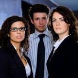 Squadra di affari all'ufficio Fotografie Stock