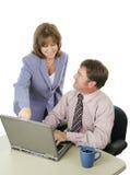 Squadra di affari che lavora insieme Immagine Stock