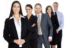 Squadra di affari del gruppo Immagine Stock Libera da Diritti