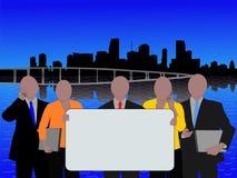 Squadra di affari di Miami Fotografia Stock Libera da Diritti