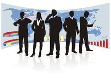 Squadra di affari globali Immagine Stock Libera da Diritti