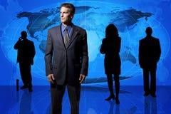 Squadra di affari globali Fotografia Stock